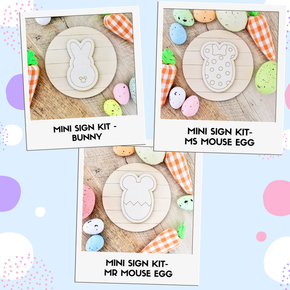 Mini DIY Sign Kit - Easter