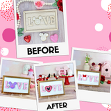 Interchangeable DIY Sign Kit - Valentine's Day