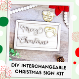 Interchangeable DIY Sign Kit - Merry Christmas