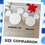 Happy Hanukkah Mouse Sign DIY Kit - Two Sizes Available!