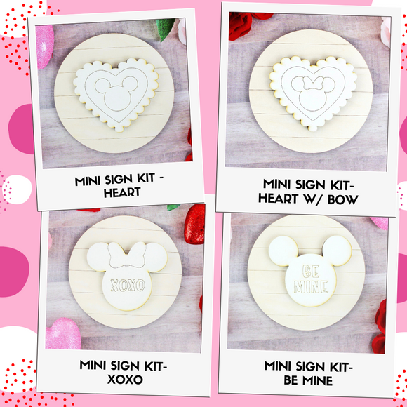 Mini DIY Sign Kit - Valentine's Day
