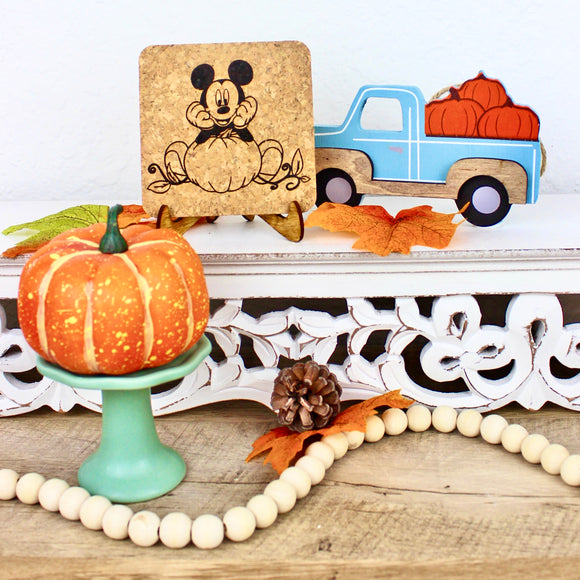 Pumpkin Harvest Cork Trivet