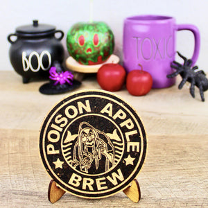 Poison Apple Brew Coffee Cork Trivet or Mini Trivet