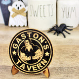 Gaston's Tavern Coffee Cork Trivet or Mini Trivet