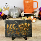 Boo Crew - Engraved Wood Home Decor