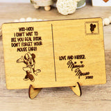 See You Real Soon - Engraved Wood Home Decor
