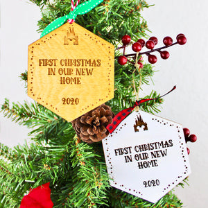 Park Paver Inspired Ornaments - New Home 2020