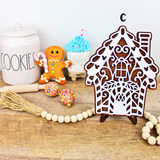 Gingerbread Village - Wood Home Decor