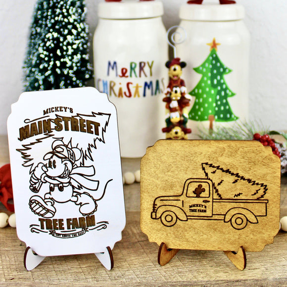Christmas Tree Farm Signs - Wood Home Decor