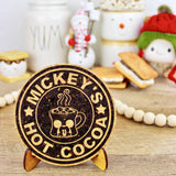 Hot Cocoa Cork Trivet or Mini Trivet