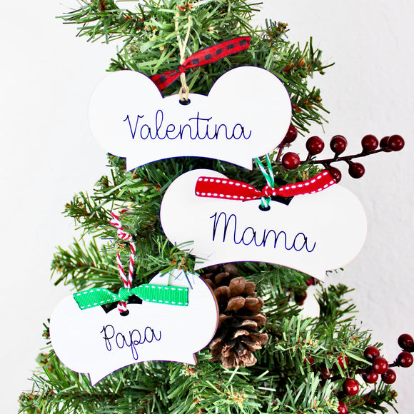 Custom Text - Mouseketeer Hat Inspired Ornaments