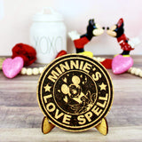 Love Spell Cork Trivet or Mini Trivet