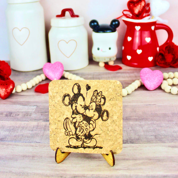 Mouse Love Mini Cork Trivet