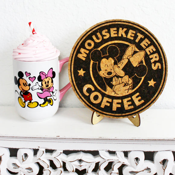 Mouseketeers Trivet or Mini Trivet