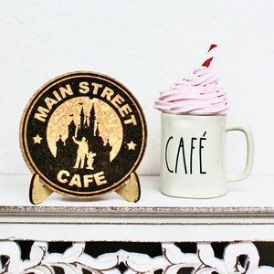 Main Street Cafe Cork Trivet or Mini Trivet
