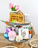 Spring is in the Air - Engraved Wood Home Decor