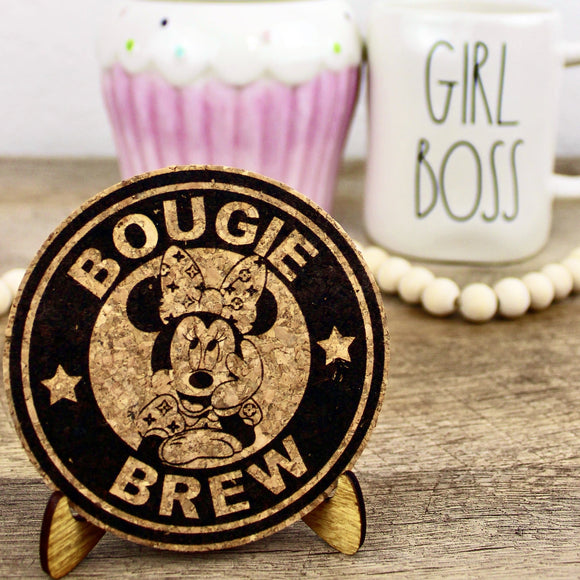 Bougie Brew Cork Trivet or Mini Trivet