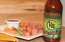 Van Roehling Honey Jalapeno Glaze and grilling sauce bbq barbecue texas flavor kid favorite chicken sweet and savory