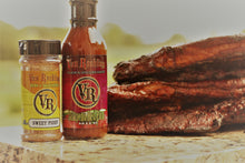Van Roehling Jalapeno Red Plum Glaze and Grilling Sauce - perfect for marinade and all fish and seafood bbq texas flavor barbecue