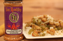 Van Roehling Louisiana Critter Seasoning - perfect cajun flavor without the heat, great for veggies and seafood