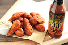 Van Roehling Spicy Habanero Glaze and Grilling Sauce Barbecue BBQ Texas Flavor bring the heat spicy chicken wing sauce