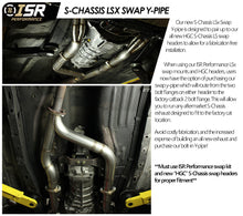 ISR Performance S-Chassis LS Swap Y-Pipe