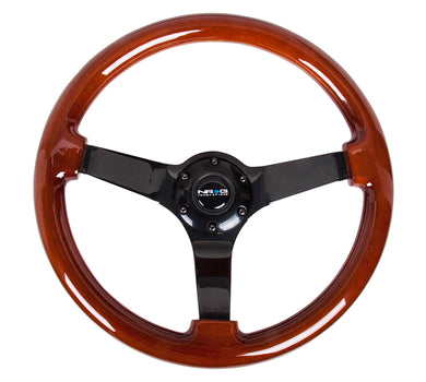 NRG Classic Dark Wood Grain Wheel