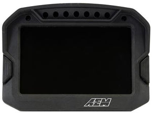AEM CD-5LG Carbon Logging Digital Dash Display w/ Internal 10Hz GPS & Antenna