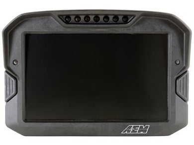 AEM CD-7 Non Logging GPS Enabled Race Dash Carbon Fiber Digital Display w/o VDM (CAN Input Only)