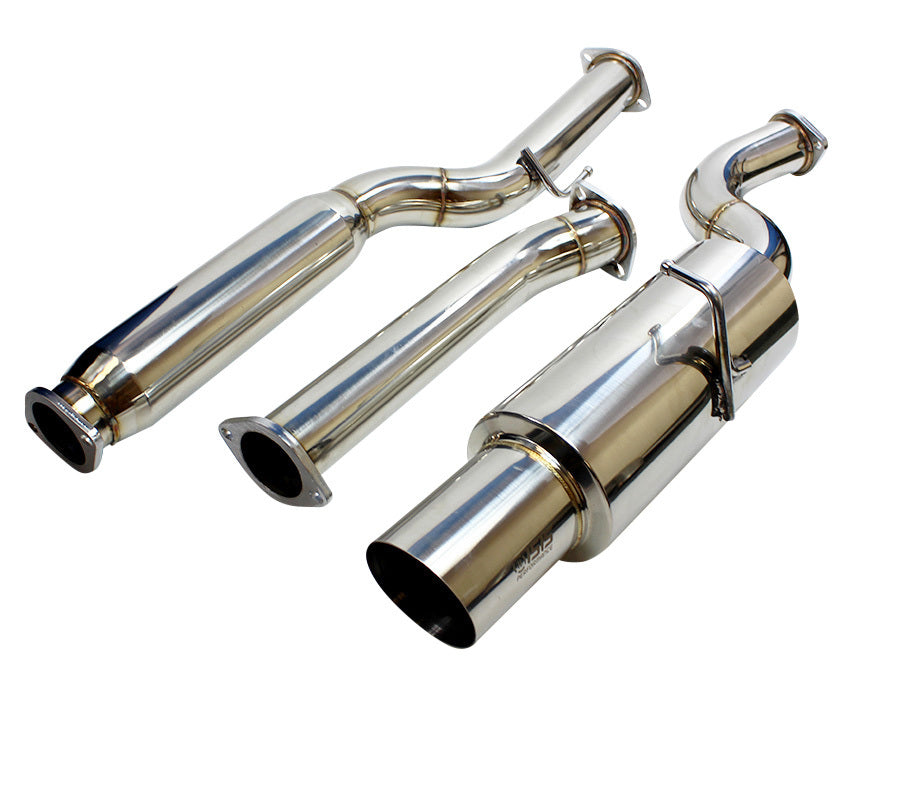 ISR Performance GT Single Exhaust - Hyundai Genesis Coupe 2.0T 09+