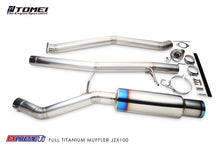 Tomei Extreme Titanium Exhaust for Toyota JZX100 Cresta Chaser Mark II