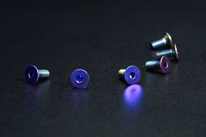 Anodized Steering Wheel Screws