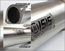 ISR Performance EP (Straight Pipes) Dual Tip Exhaust - Nissan 240sx 95-98 (S14) - 3""