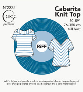 2222 - CABARITA KNIT TOP (PDF)