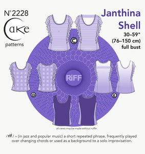 2228 - JANTHINA KNIT TOP (PAPER)