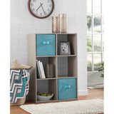 Mainstays 6 Cube Organizer, Multiple Colors - shopyes.us