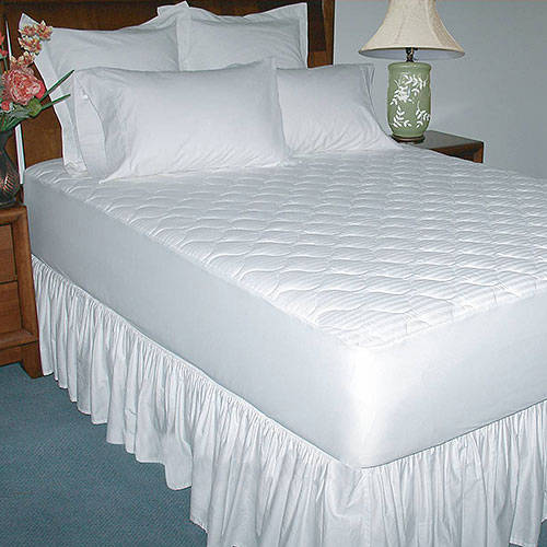 250-Thread Count Luxury Cotton Mattress Pad - shopyes.us