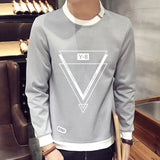 2017 spring Autumn Fashion solid New casual Male Streetwear long sleeve Hoodies Men pullover  Sweatshirts plus size 3XL 4XL 1 - shopyes.us