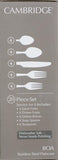 Cambridge Silversmiths Boa Frost 20-Piece Flatware Set - shopyes.us