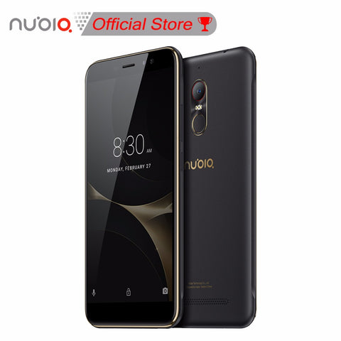 "Global Version Original Nubia N1 Lite NX597J 5.5"" Smartphone MT6737 Quad Core 2GB RAM 16GB ROM 4G 3000mAh Fingerprint Dual SIM"