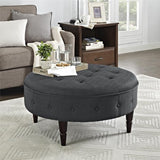 Better Homes and Gardens Round Ottoman, Multiple Colors - shopyes.us