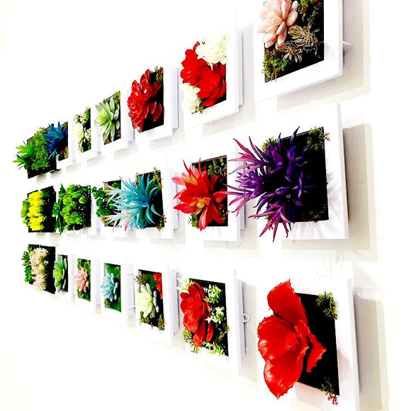 3D Artificial Plants Home Wall Decorations - shopyes.us
