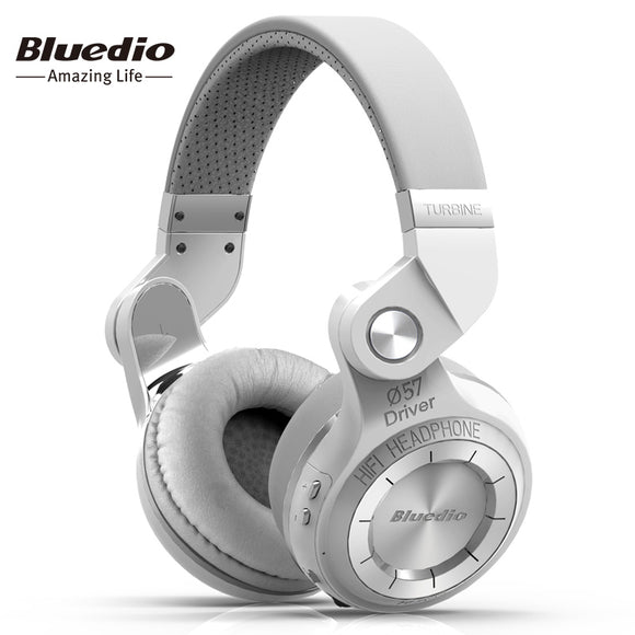 Bluedio T2S(Shooting Brake) Bluetooth stereo headphones wireless Bluetooth 4.1 headset On-Ear headphones - shopyes.us