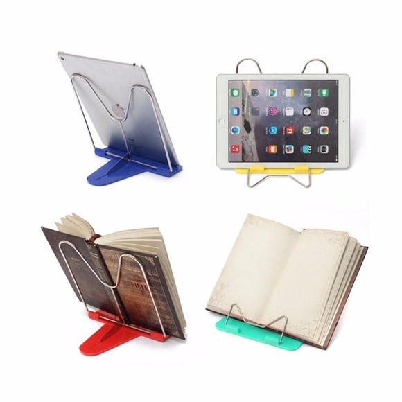 Adjustable Foldable Portable Reading Book Stand Document Holder Desk - shopyes.us