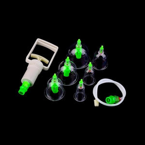 1 Set 6 Can Massager Health Monitors Products Can Opener Pull Vacuum Cupping of The Tanks Cutem Extractor Acupuncture Hot Sale - shopyes.us