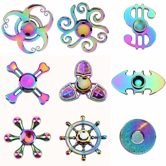 Colorful Fidget Spinner - shopyes.us