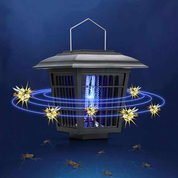 Eco-Friendly Mosquito Killer Light Top Quality Solar Anti Mosquito Lamp LED Outdoor Insect Killer For Home Courtyard Lawn Garden - shopyes.us