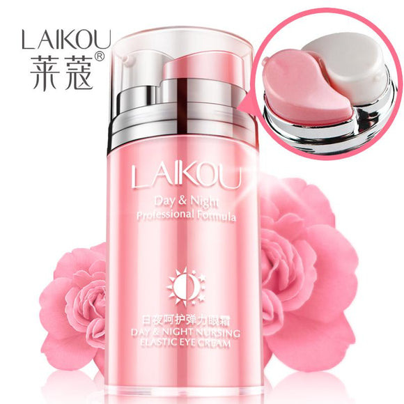 Day and Night Elastic Eye cream Skin care Facial Anti- puffiness Face Care Dark circles Anti Wrinkle Aging Moisturizing Firming - shopyes.us