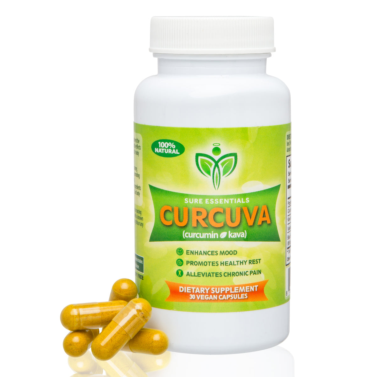 Natural Stress & Anxiety Relief - Curcuva