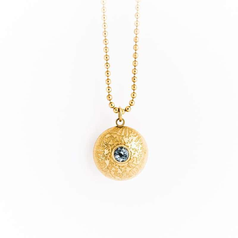 Or Double Gem Dome Collier - Femme - Bijoux - Colliers